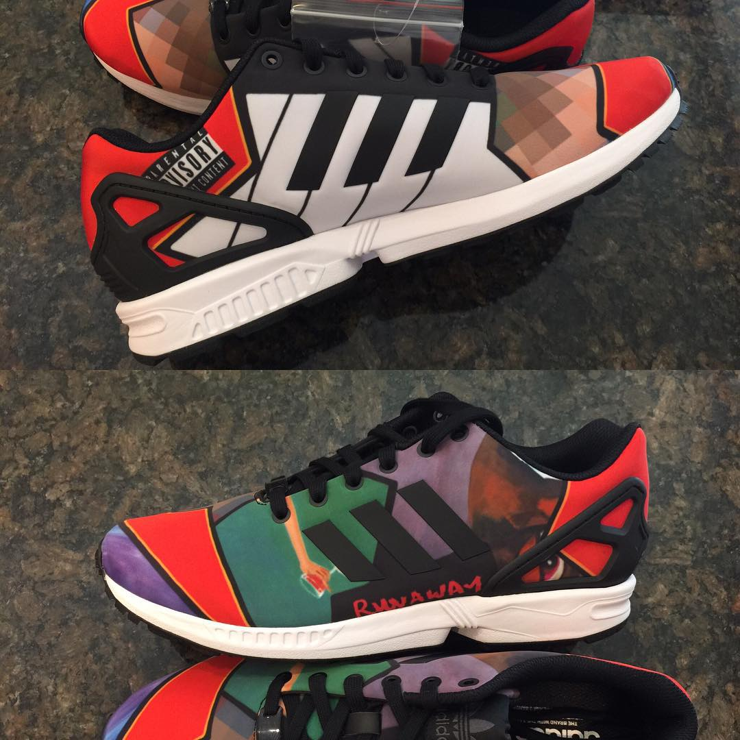 25f803da1 How Did These adidas ZX Fluxes Make it Past the Censors