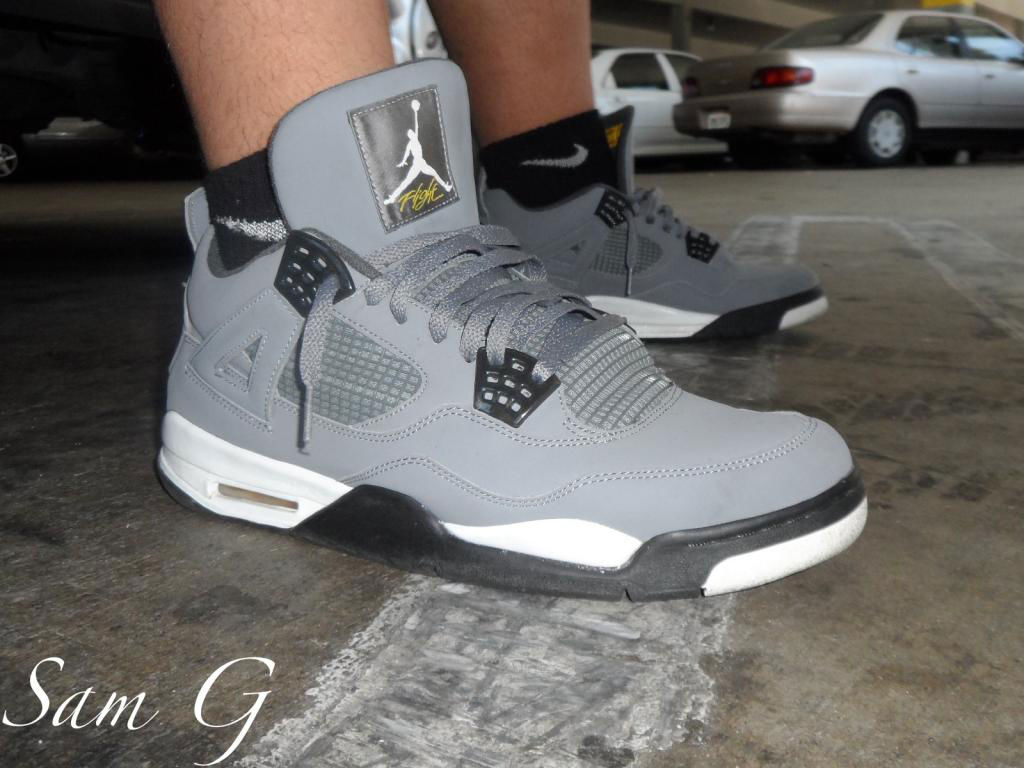 Spotlight // Forum Staff Weekly WDYWT? - 8.24.13 - Air Jordan IV 4 Retro Cool Grey by lashoecollector