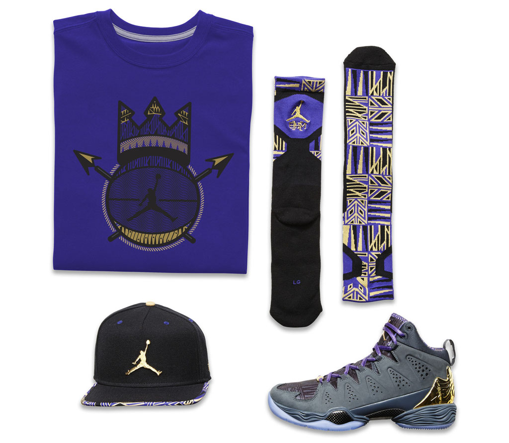 Jordan Melo Black History Month BHM 2014 Collection