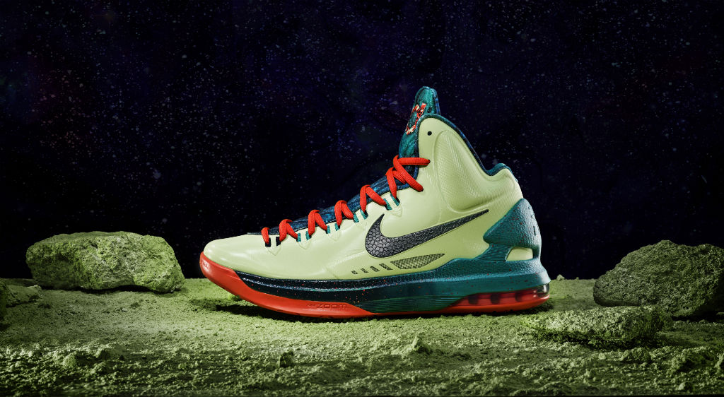 KD 5 Galaxy All Star Liquid Lime Obsidian Sport Turquoise Crimson 583111-300