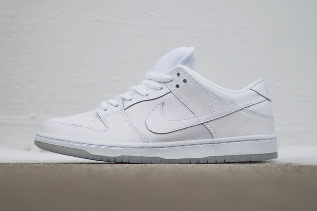 faa0b18bce3f Nike SB Dunk Low Pro in Almost All-White