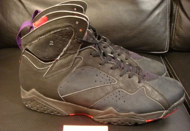 free shipping 2814b 05f98 Air Jordan 7 No Jumpman Look-See Sample (1992)