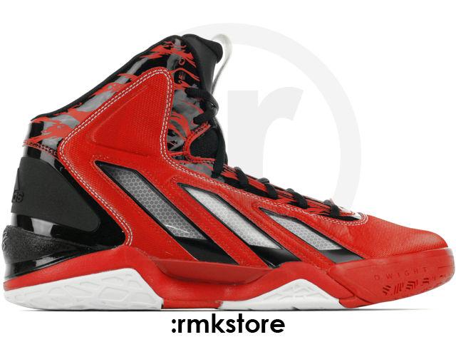 designer fashion 64cab 8cf4e adidas adipower Howard 3 Light Scarlet Running White Black G47369 (1)
