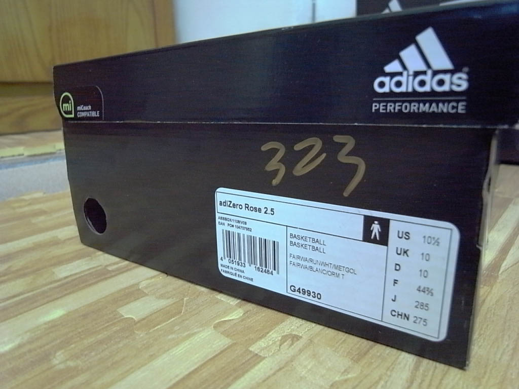 6ba1e9ac7dc4 adidas adiZero Rose 2.5 St. Patrick s Day Fairway White Gold G49930 (9)
