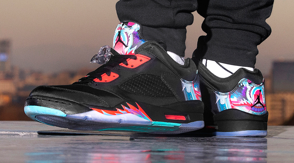 save off e4e5c 37a0f These Air Jordans Are Inspired by Chinese Kites | Sole Collector