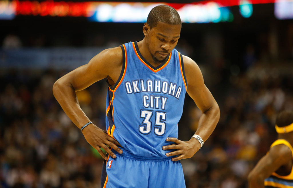 Does Nike Have a Problem with Kevin Durant Being Out?