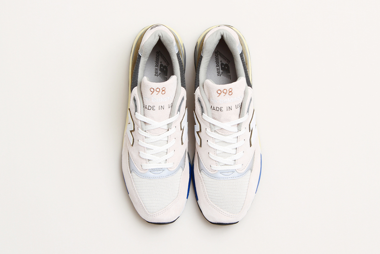 cncpts x new balance made in usa 998 c-note top view