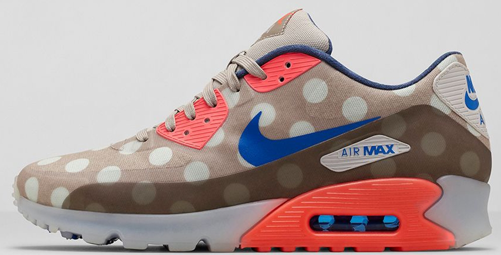 Nike Air Max '90 Ice City Classic Stone/Hyper Cobalt-Hyper Punch