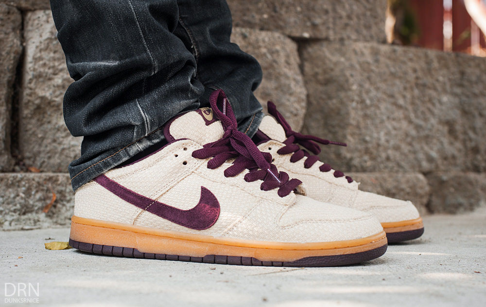 dunksrnice in the 'Red Hemp' Nike SB Dunk Low