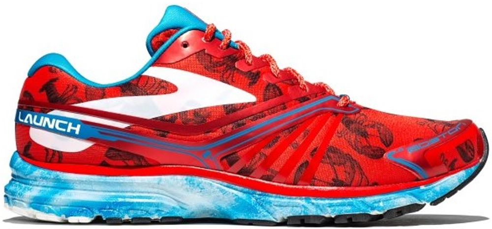 Brooks Launch 2 Red/White-Blue