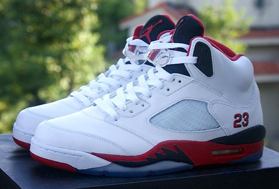 Air Jordan 5 Retro Fire Red New Images | Sole Collector