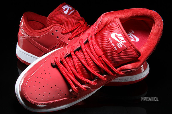 outlet store dd2eb f2066 Nike SB Dunk Low Color  Varsity Red White-Varsity Red Style    304292-616.  Price   90