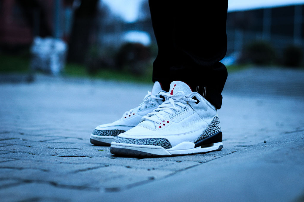 Rychu08 in the 'Cement' Air Jordan 3 Retro