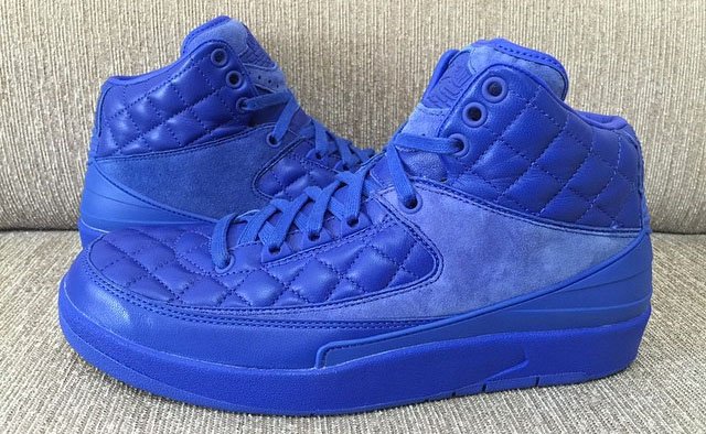 Don 'quilted' Jordan 2 Leather Collaboration Just The Be Air May A lKJc1F