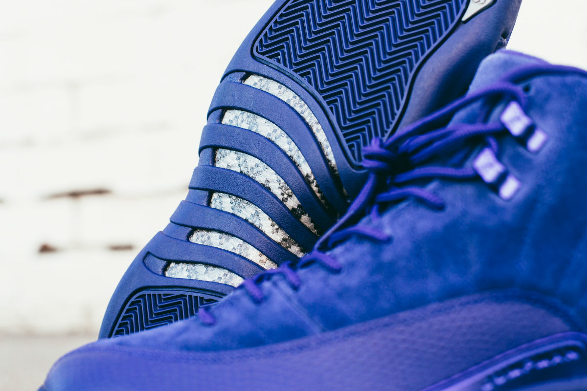 Air Jordan 12 Blue Suede Outsole 130690-400
