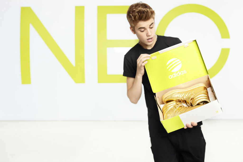 adidas NEO Label Announces Justin Bieber As New Style Icon