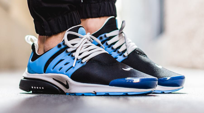 Nike Air Presto Black Blue