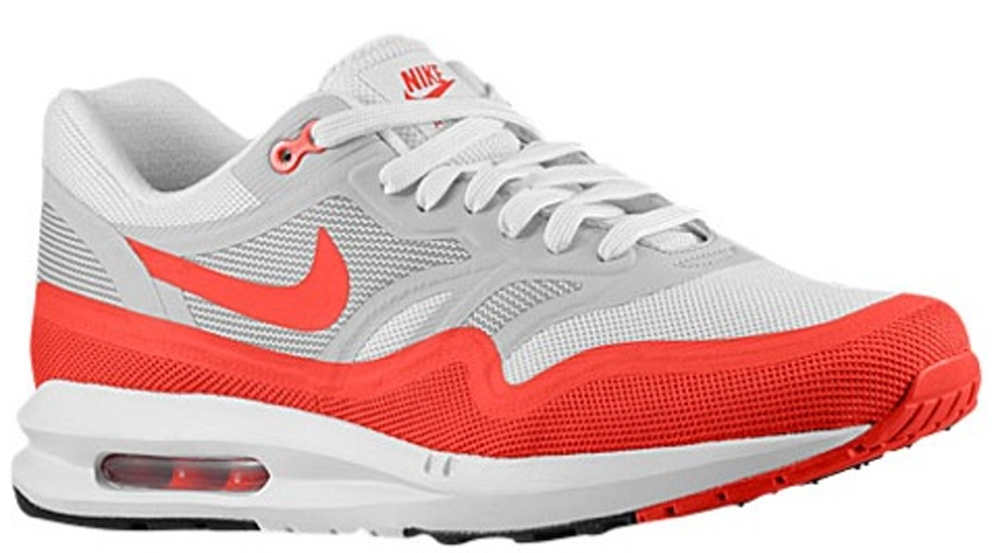 Nike Air Max Lunar 1 White/Chilling Red-Neutral Grey-Chilling Red