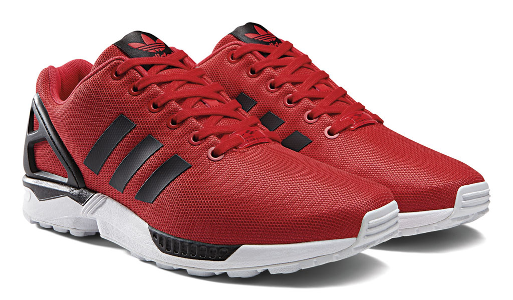 adidas ZX Flux Base Tone Pack Red (6)