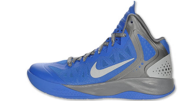 Nike Zoom Hyperenforcer PE Treasure Blue/Metallic Silver-Cool Grey
