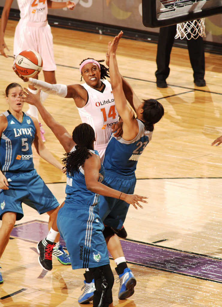 Maya Moore wearing Jordan Super.Fly PE (3)