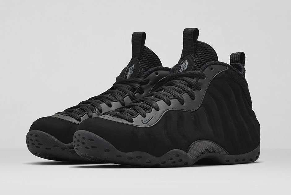 eb7a9380cf4 An Official Look at the  Black Suede  Nike Air Foamposite One