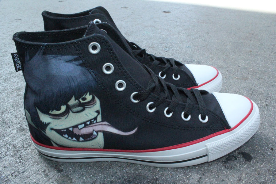 low priced bed5b 87864 Gorillaz x Converse Chuck Taylor Hi