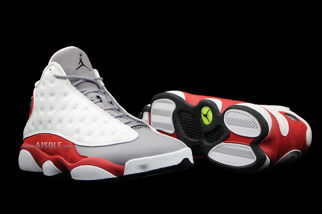 6f4488da910 Air Jordan XIII 13 Grey Toe 2014 310004-161 (16)