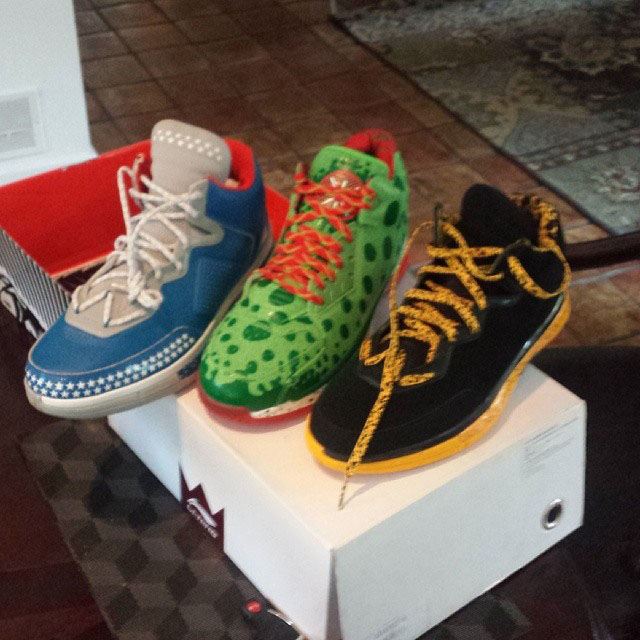 Evan Turner Picks Up Li-Ning Way of Wade & Way of Wade 2
