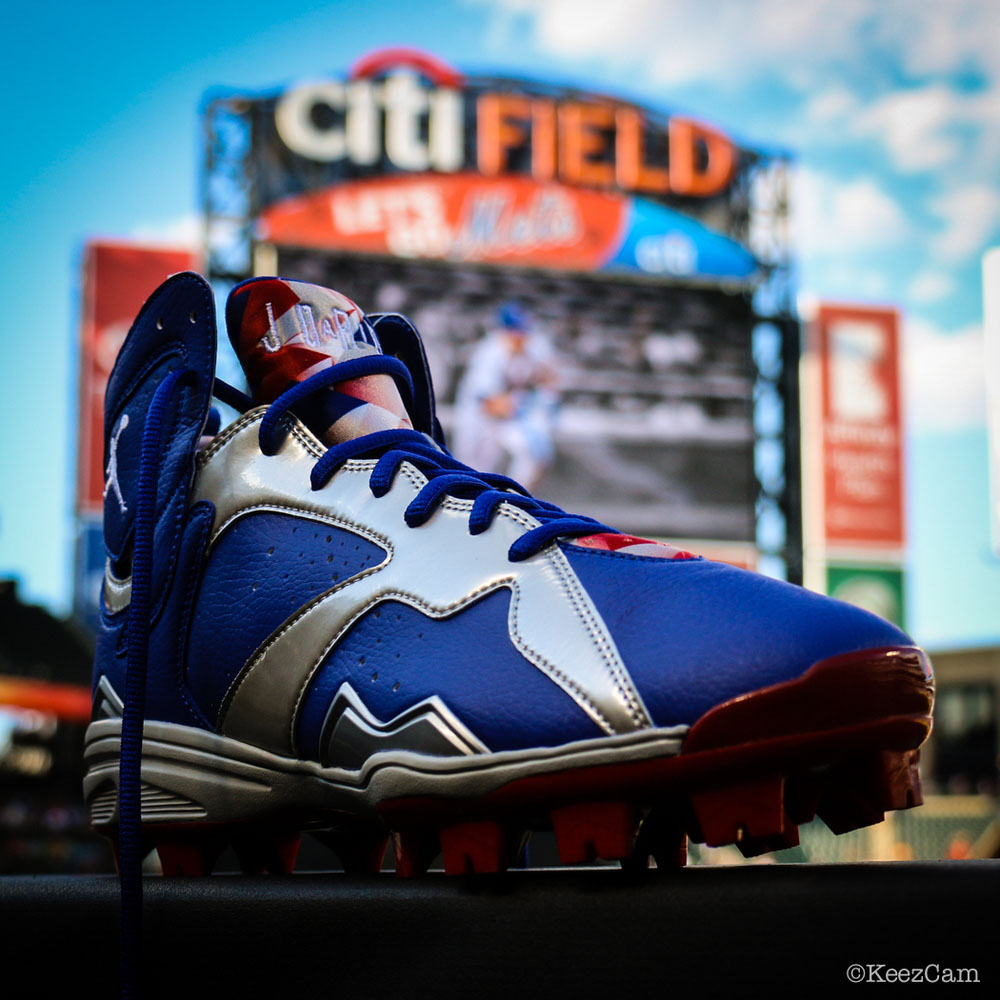 Air Jordan 7 Carl Crawford Dodgers PE Cleats (3)