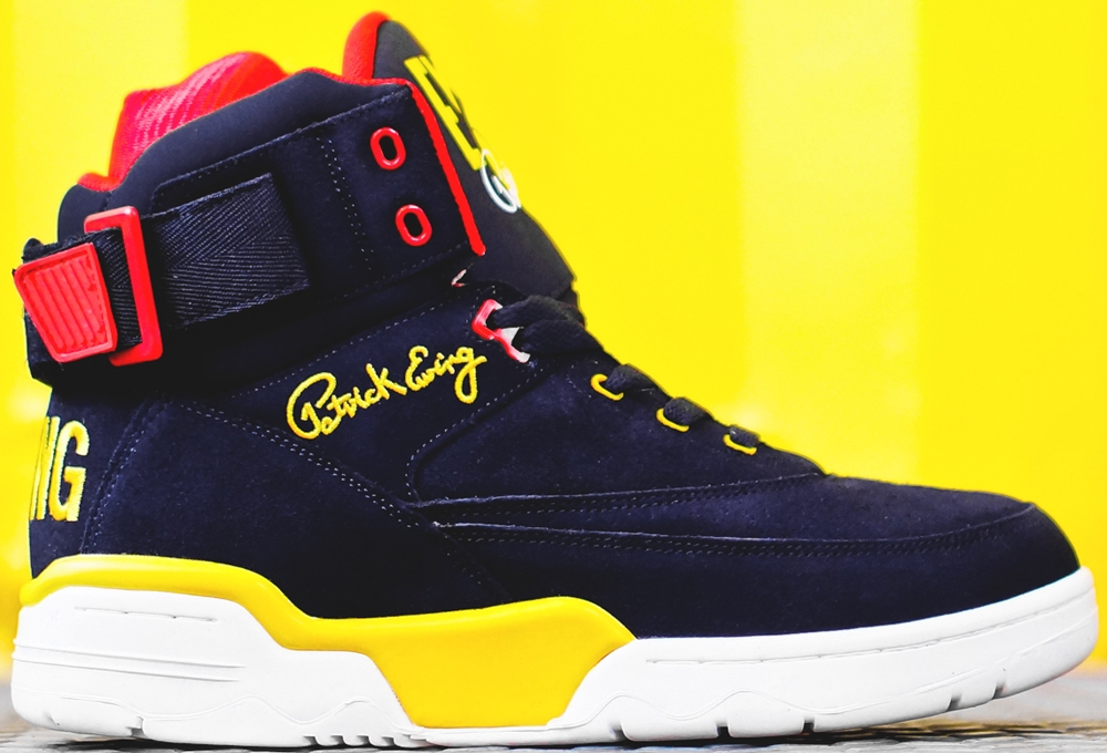 Ewing Athletics Ewing 33 Hi Navy/Red-Yellow