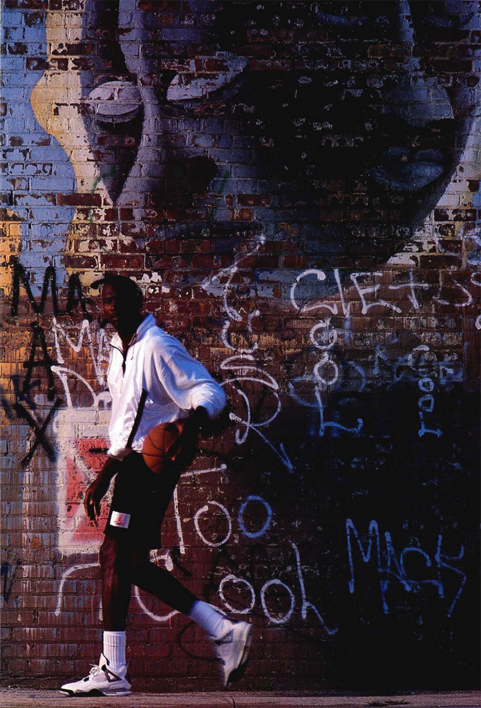 Michael Jordan 'Graffiti' Nike Air Jordan Poster (1989)