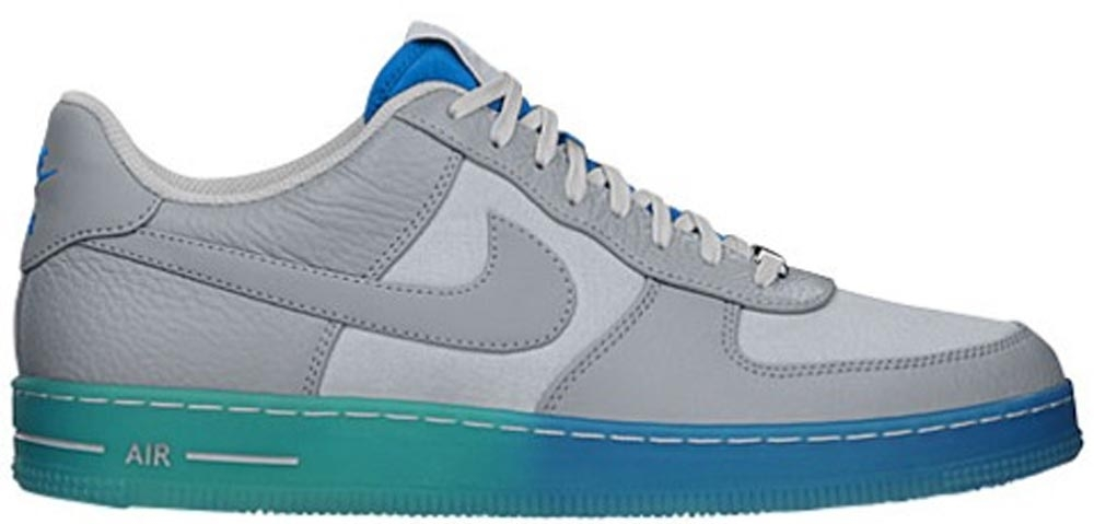 Nike Air Force 1 Downtown Low Breeze Wolf Grey/Wolf Grey-Photo Blue-Pure Platinum