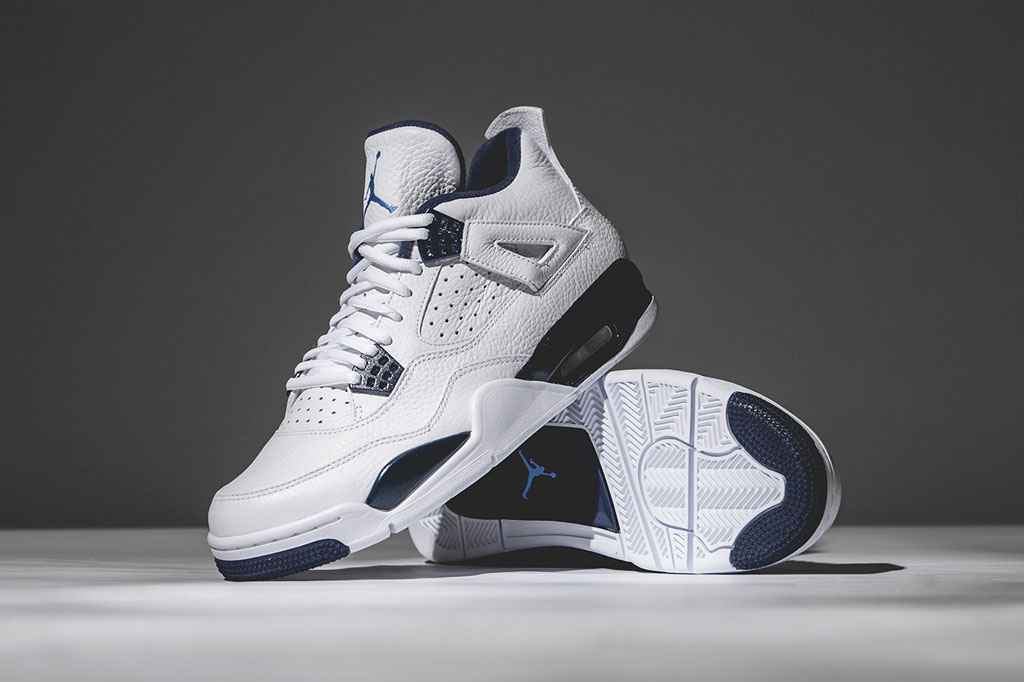 timeless design 89a36 3ccac The Best Look at the Remastered 'Columbia' Air Jordan 4 ...