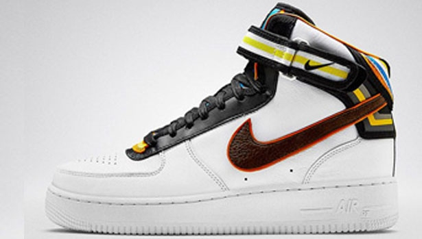 Nike Air Force 1 Mid Supreme RT White/Black-Multi-Color