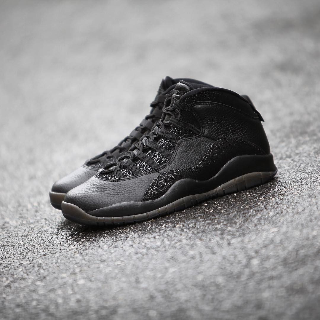 Air Jordan 10 OVO Black Release Date 819955-030 (2)