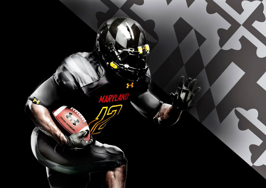 Maryland's Under Armour Black Ops Football Uniforms (2)