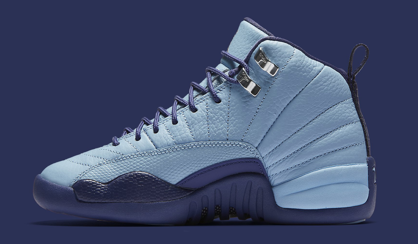 Air Jordan 12 GS 510815-418 Blue Cap Medial f47a65aba