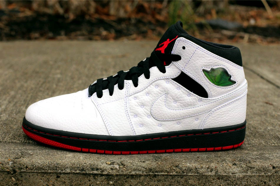 Nike Air Jordan 1 Retro '97 Men White/Black-Gym Red