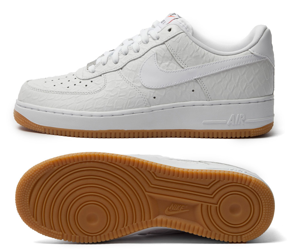 New Nike Air Force One With Beige Sole  eaef06a94