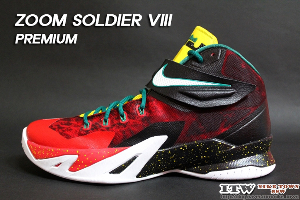 buy popular 54bcd c3322 Buy Cheap Nike Zoom LeBron Soldier 8 Christmas | Phoenix ...