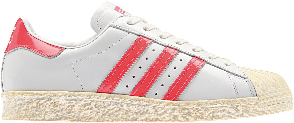 adidas Originals Superstar 80s - Spring/Summer 2014 - White/Pink (2)