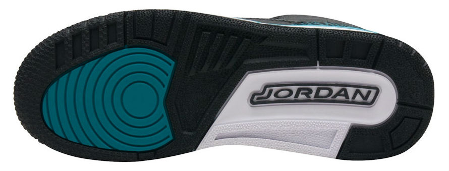 Air Jordan 3 GS Jaguars Release Date Sole 441140-018
