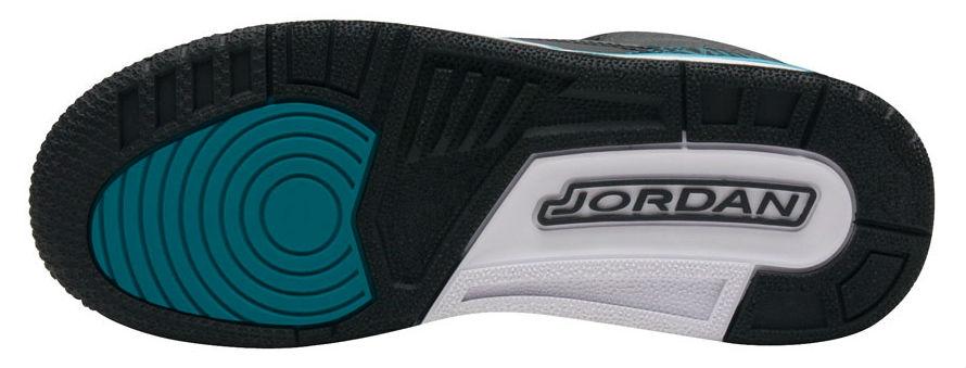 Air Jordan 3 GS Jaguars Release Date Sole 441140-018
