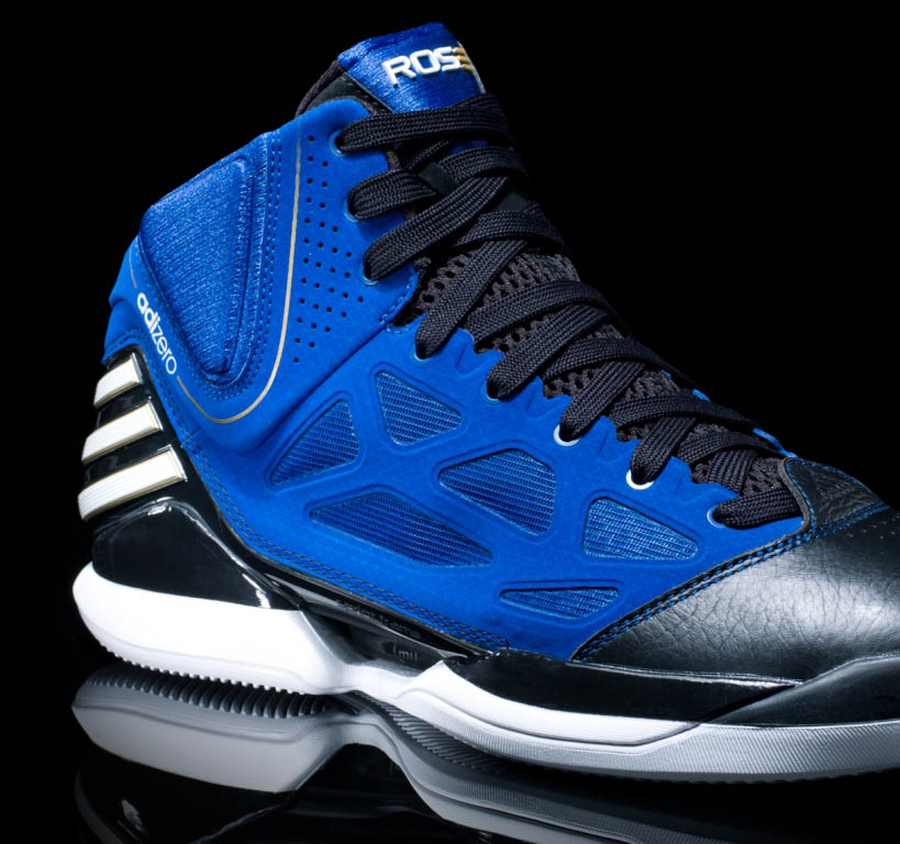 adidas adiZero Rose 2.5 School of Hard Knocks Black and Blue G49931 (2)