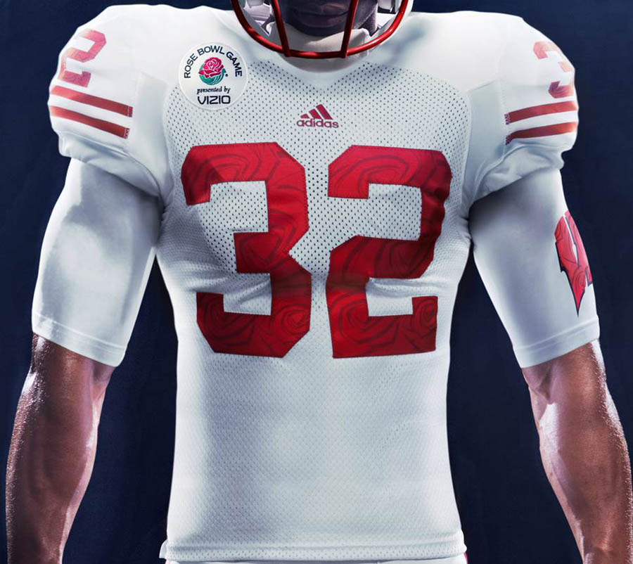 adidas Wisconsin Rose Bowl Uniforms Unveiled (3)