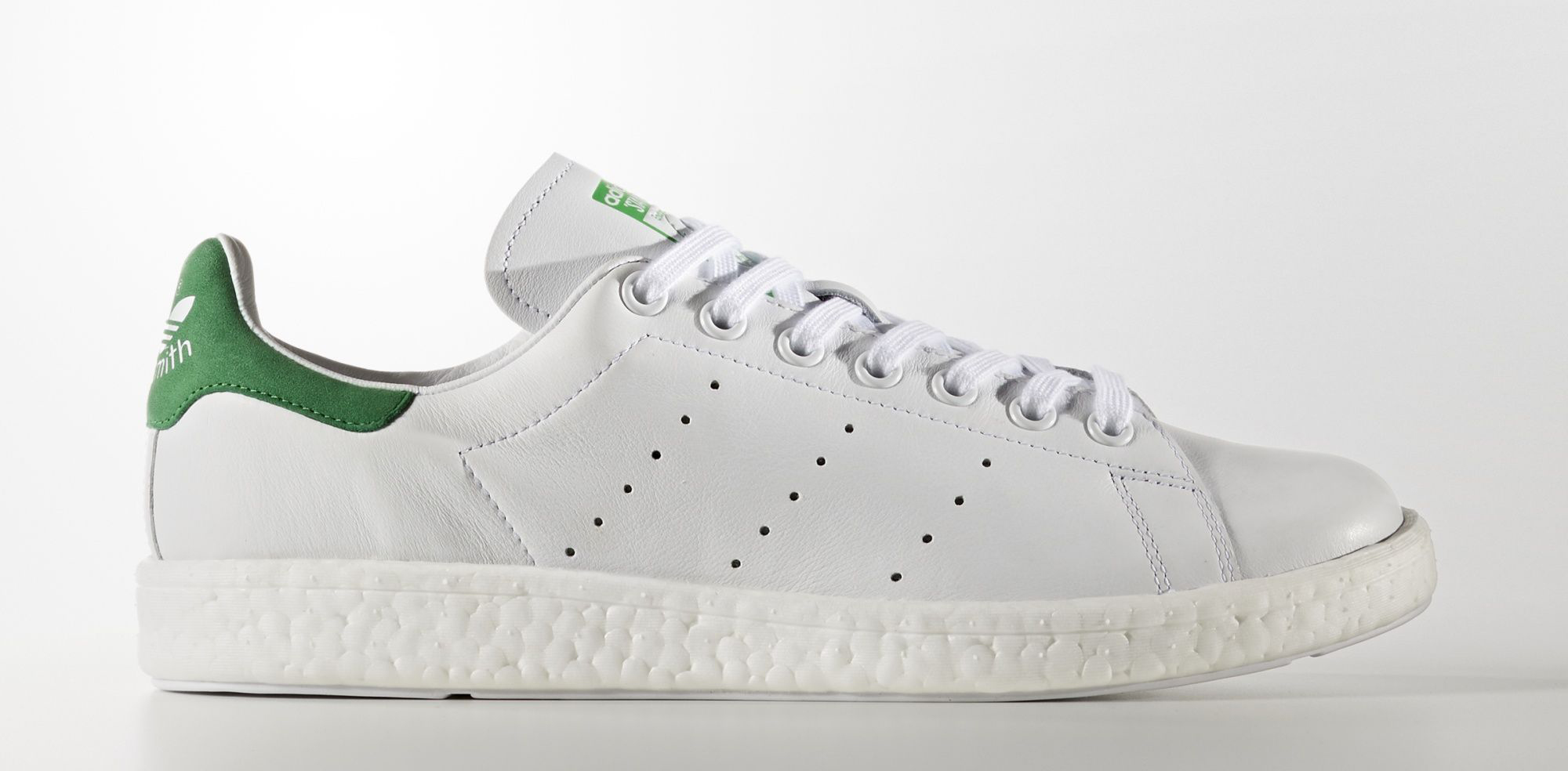 half off 107d8 c9ed4 Adidas Stan Smith Boost BB0008 Profile