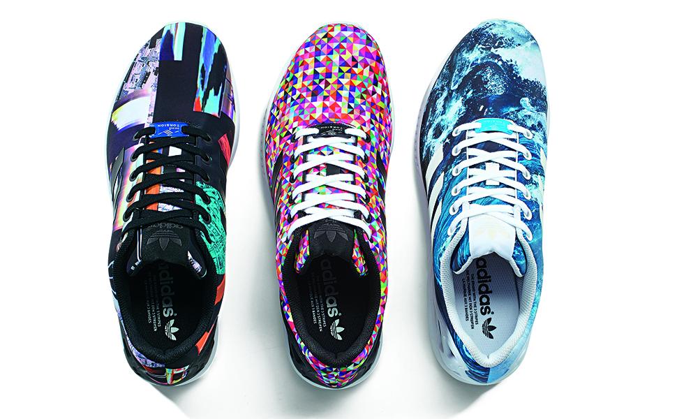 chaussure adidas zx flux a personnaliser