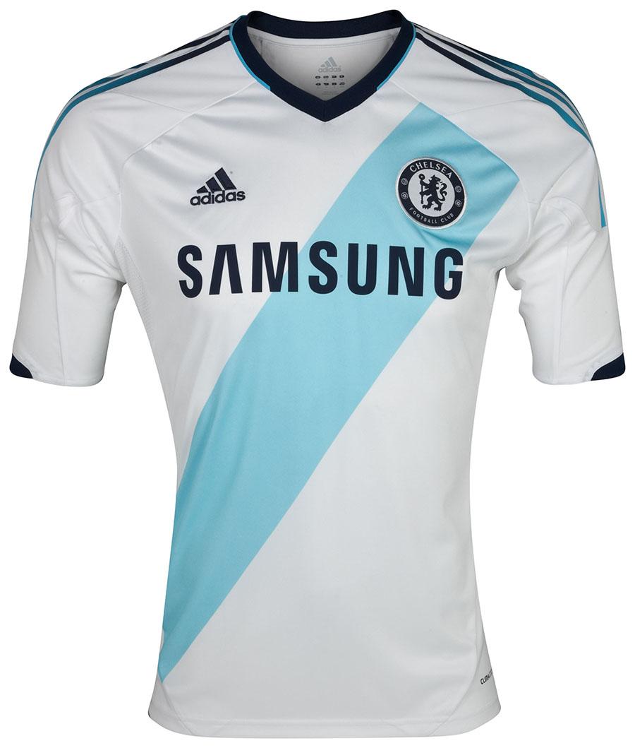 0858d738d adidas Unveils 2012-2013 Chelsea FC Away Kit Short Sleeve