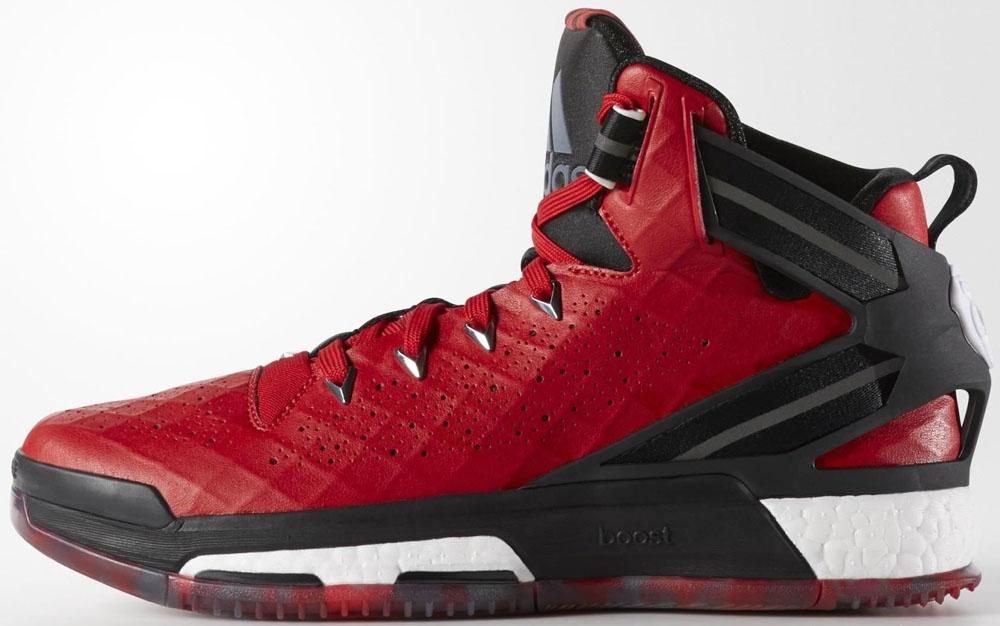 adidas D Rose 6 Boost Scarlet/Black